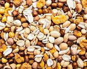 picture of compose  - Indian dry savoury composed of peanuts - JPG