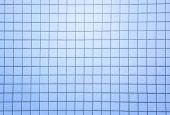 pic of fill  - blue tiles wall texture with black filling background - JPG