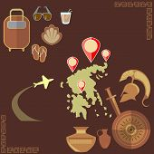 stock photo of sparta  - Travel to Greece - JPG