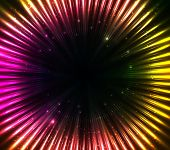 pic of cosmic  - Purple shining cosmic lights vector abstract background - JPG