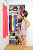 pic of wearing dress  - Home closet  - JPG