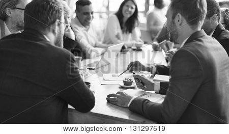 Business People Meeting Conference Discussion Corporate Concept