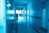 stock photo of hospital patient  - Doctors are working  - JPG