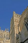 Exeter Cathedral In Summer poster