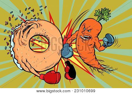 Carrots Beats A Donut Vegetarianism