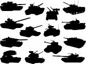 weapon collection, battle tanks