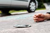 Person Hit By A Car poster