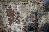 Weathered Brick Wall poster