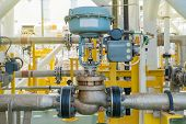 Actuated Control Valve Fail To Open Type And Valve Positioner Control By Programmable Logic Controll poster