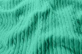 Color Trend 2020 Mint. Abstract New Mint Color Background. Seafoam Green Fabric Background. Green Fa poster