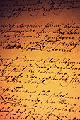 stock photo of annal  - a photo of a vintage handwritten letter - JPG