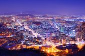 picture of seoul south korea  - Downtown cityscape of Seoul - JPG