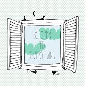 Be Open To Everything Background