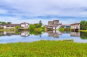picture of boggy  - Marshy village scenery in Bang Muang - JPG