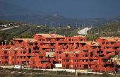 foto of urbanisation  - New Urbanisation at the Costa del Sol Andalusia Spain - JPG