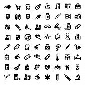 picture of medical examination  - Big Medical And Health Icons Set Created For Mobile - JPG