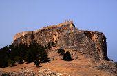 foto of akropolis  - castle  on the hill - JPG