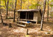 image of appalachian  - Niday Shelter on the Appalachian Trail in Craig County in Southwest Virginia - JPG