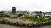 Cityscape From Calton Hill, Edinburgh - Scotland