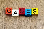 stock photo of gases  - Gases - JPG