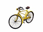 Old Yellow Bicycle