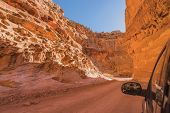 Dirty Canyon Road In Utah