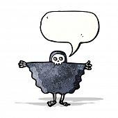 stock photo of ghoul  - halloween ghoul cartoon - JPG