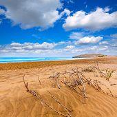 pic of manga  - Calblanque beach Park near La Manga Mar Menor in Murcia Spain - JPG