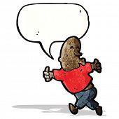 pic of enthusiastic  - enthusiastic man cartoon - JPG