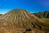 pic of bromo  - Volcanic formation in Bromo Tengger Semeru national park Indonesia - JPG
