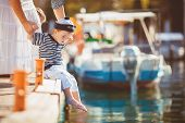 picture of dock  - Happy family - JPG