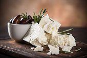 picture of greeks  - Greek cheese feta - JPG