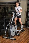 image of elliptical  - Man - JPG