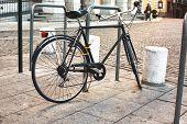 Постер, плакат: Classic Bike Parked