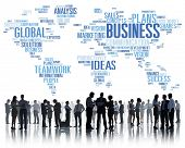 pic of enterprise  - Business Global World Plans Organization Enterprise Concept - JPG