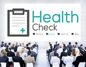 image of medical condition  - Health Check Diagnosis Medical Condition Analysis Concept - JPG