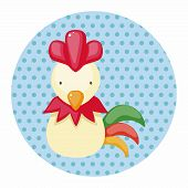 pic of chinese zodiac animals  - Chinese Zodiac Rooster Theme Elements - JPG