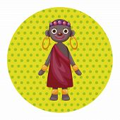 picture of aborigines  - Aborigines Theme Elements - JPG