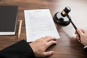 stock photo of contract  - Close - JPG