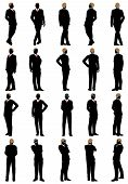 picture of spectacles  - Business silhouette set - JPG