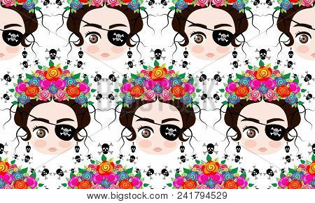 Emoji Baby Mexican Woman With