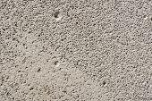 Foam Block Close-up. The Texture Of The Gas Block. Foam Block poster