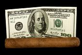Cigar And Dollars
