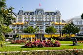 Montreux Town, Switzerland ,  Big ,luxury  Hotel Majestic