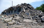image of sakhalin  - The House after earthquake - JPG