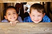 stock photo of playground  - African - JPG