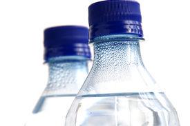 stock photo of bottle water  - two bottled waters - JPG