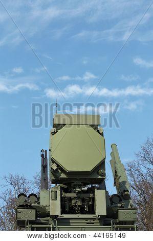 Постер, плакат: Оружие противовоздушной обороны, холст на подрамнике