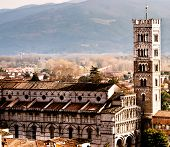 Sight Of Lucca Cathedral