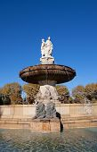 Fountain Rotonde (1860). Aix-en-provence, France